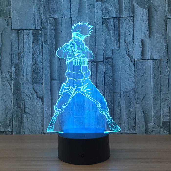 Kakashi Hatake 3D LED Lamp