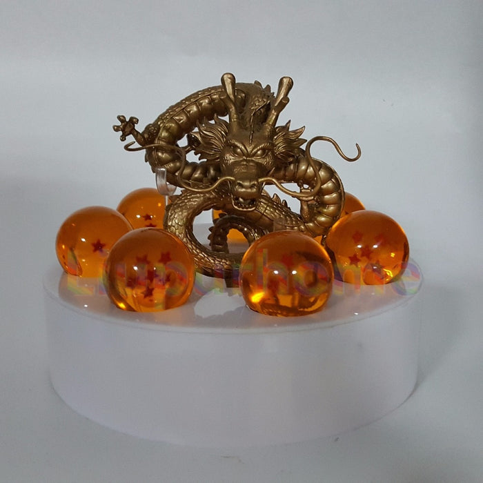 Golden Shenron with Dragonballs
