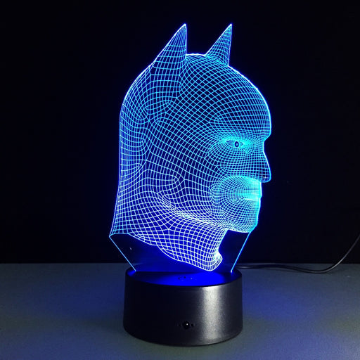 Batman Mask 3D LED Lamp