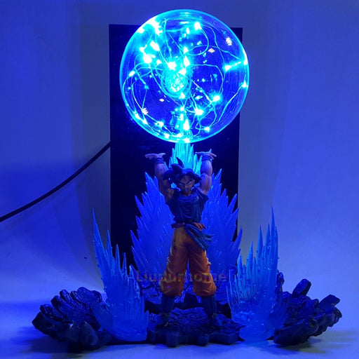 Goku Spirit Bomb Action Figure Lamp