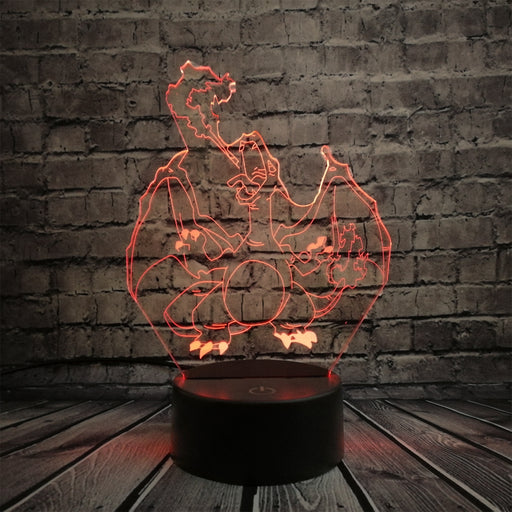 Charizard 3D LED Lamp