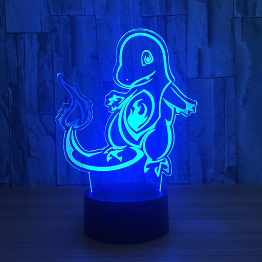 Charmander 3D LED Lamp
