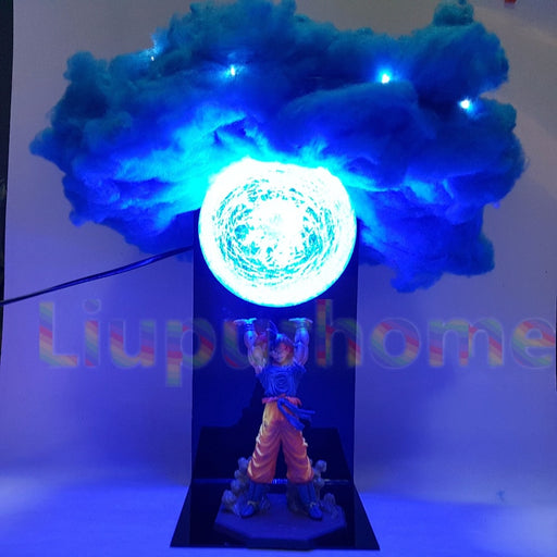 Goku Spirit Bomb Lamp with Cloud