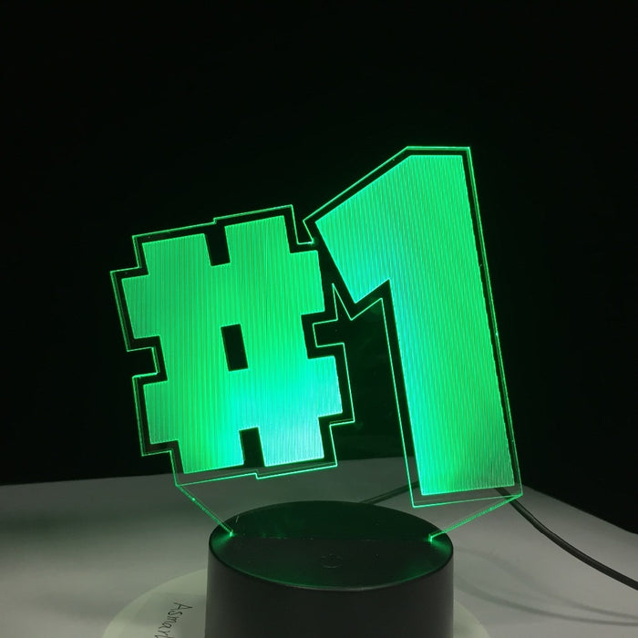 Victory Royale 3D LED Lamp