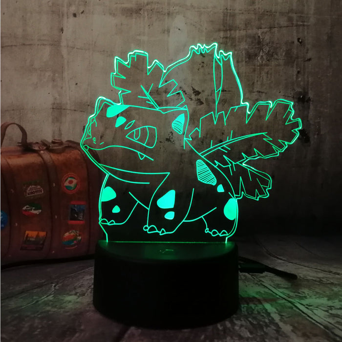 Ivysaur 3D LED Lamp