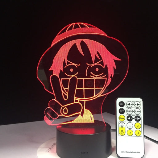 Luffy 3D LED Lamp