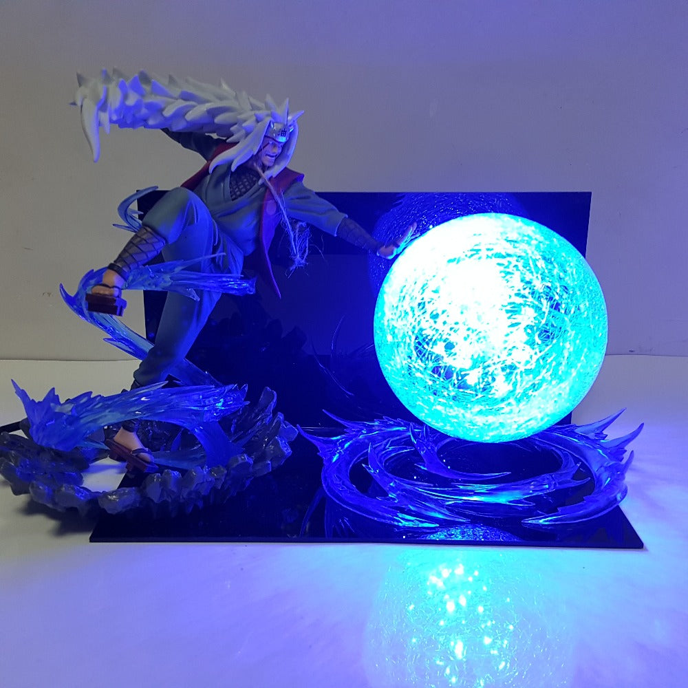 Jiraiya Rasengan LED Action Figure