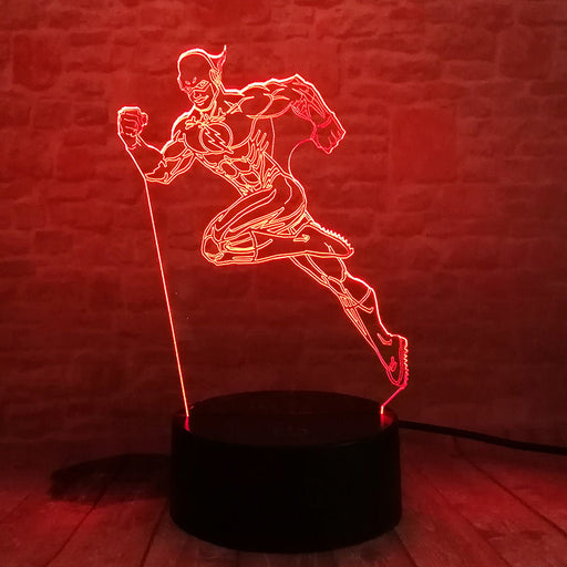 Flash 3D LED Lamp