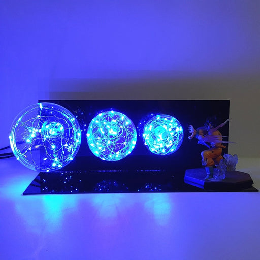 Goku 3 Ball Kamehameha LED Action Figure Lamp
