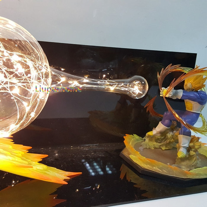 Vegeta Final Flash Action Figure Lamp