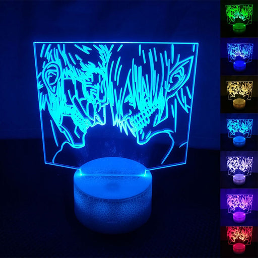 Attack on Titan 3D LED Lamp