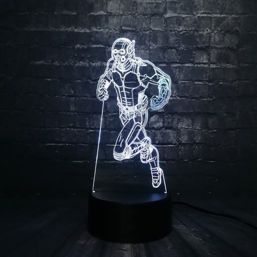 Antman 3D LED Lamp