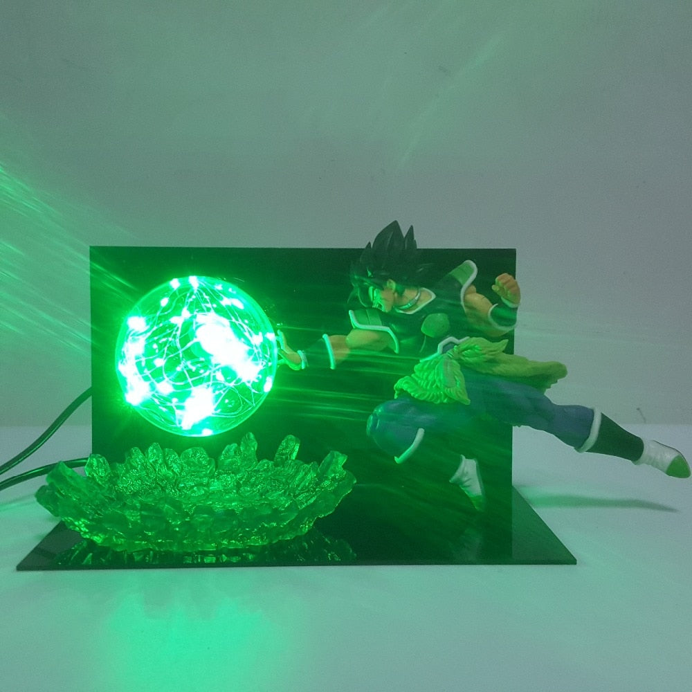 Broly Blast LED Action Figure Lamp