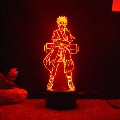 Sage Mode Naruto 3D LED Lamp
