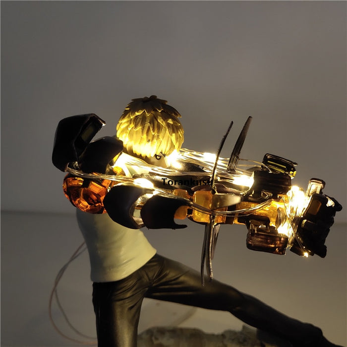 Genos LED Action Figure