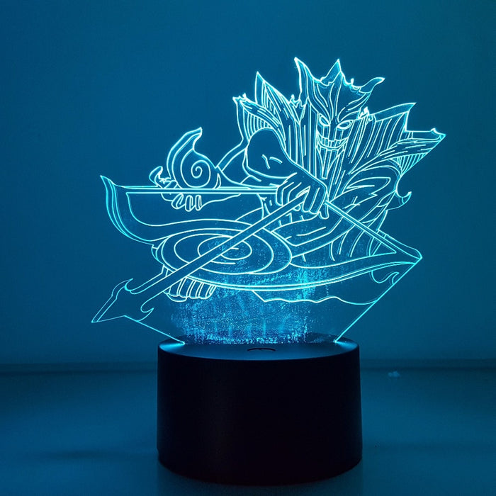 Sasuke Susanoo 3D LED Lamp