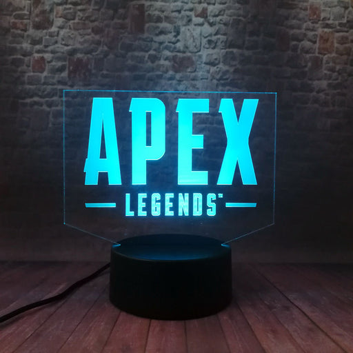 Apex Legends 3D LED Lamp