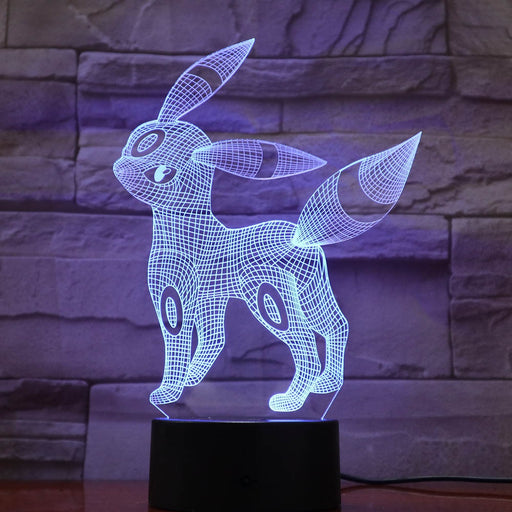 Umbreon 3D LED Lamp