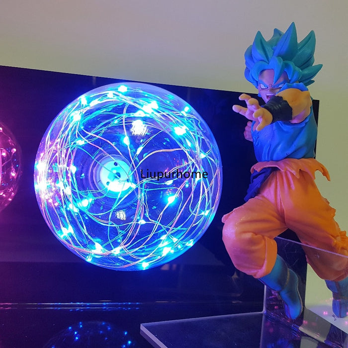 Goku and Vegeta LED Blasts Action Figure Lamp