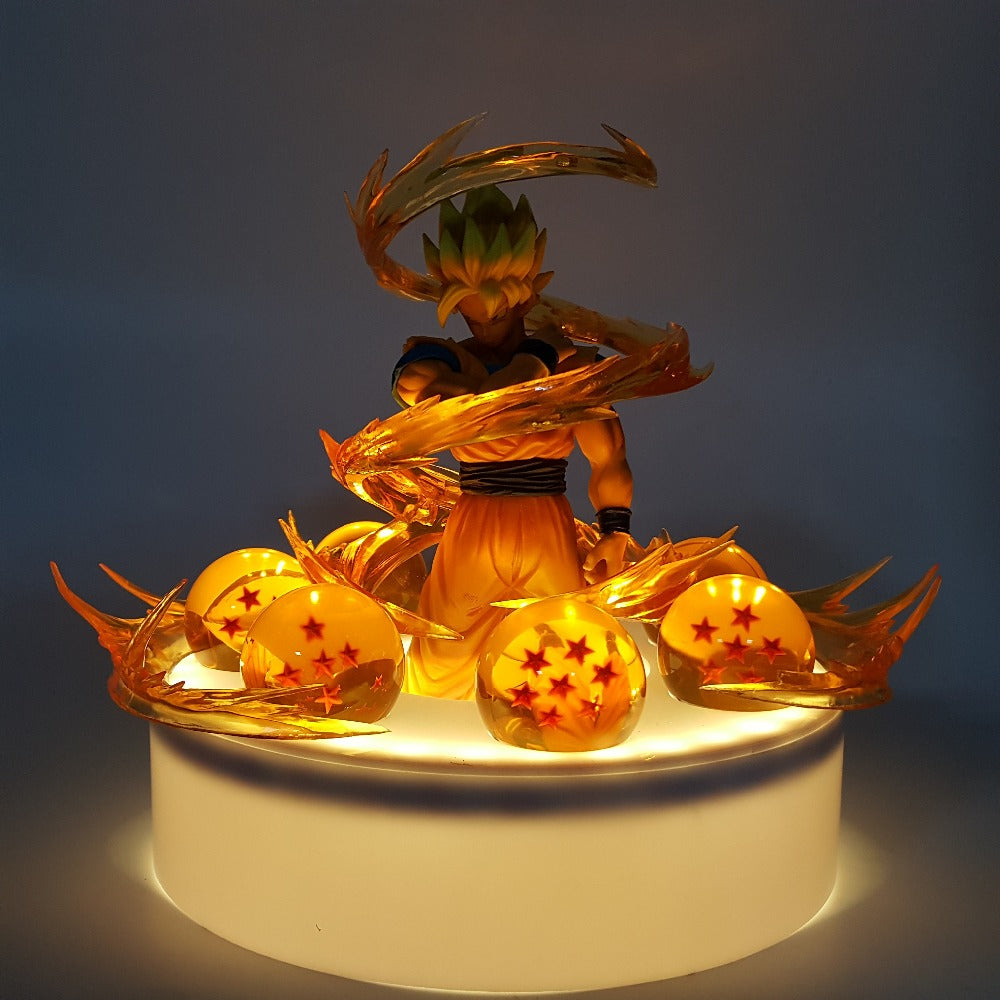 Goku with Dragon Balls