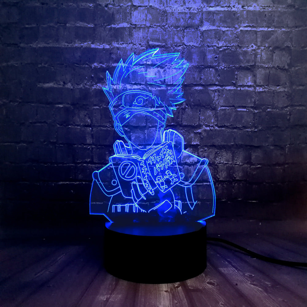 Kakashi Reading 3D LED Lamp