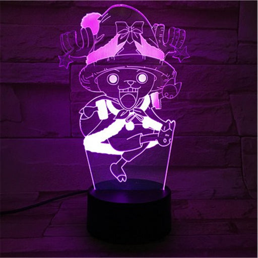 Tony Chopper 3D LED Lamp