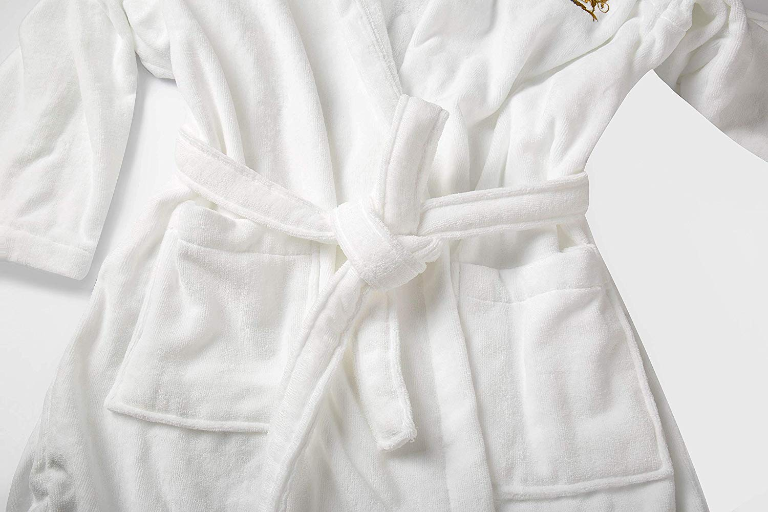 Luxury Velour Hooded Bathrobe