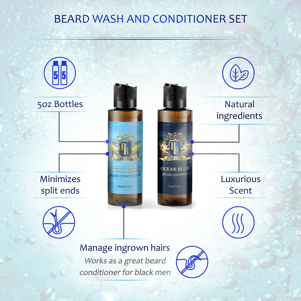 Baroque Royale - Beard Wash and Conditioner - info 1