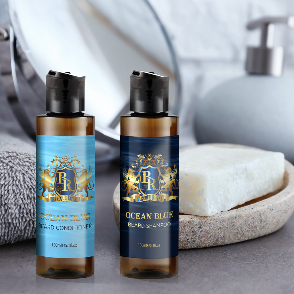 Baroque Royale - Beard Wash and Conditioner - lifestyle 5a