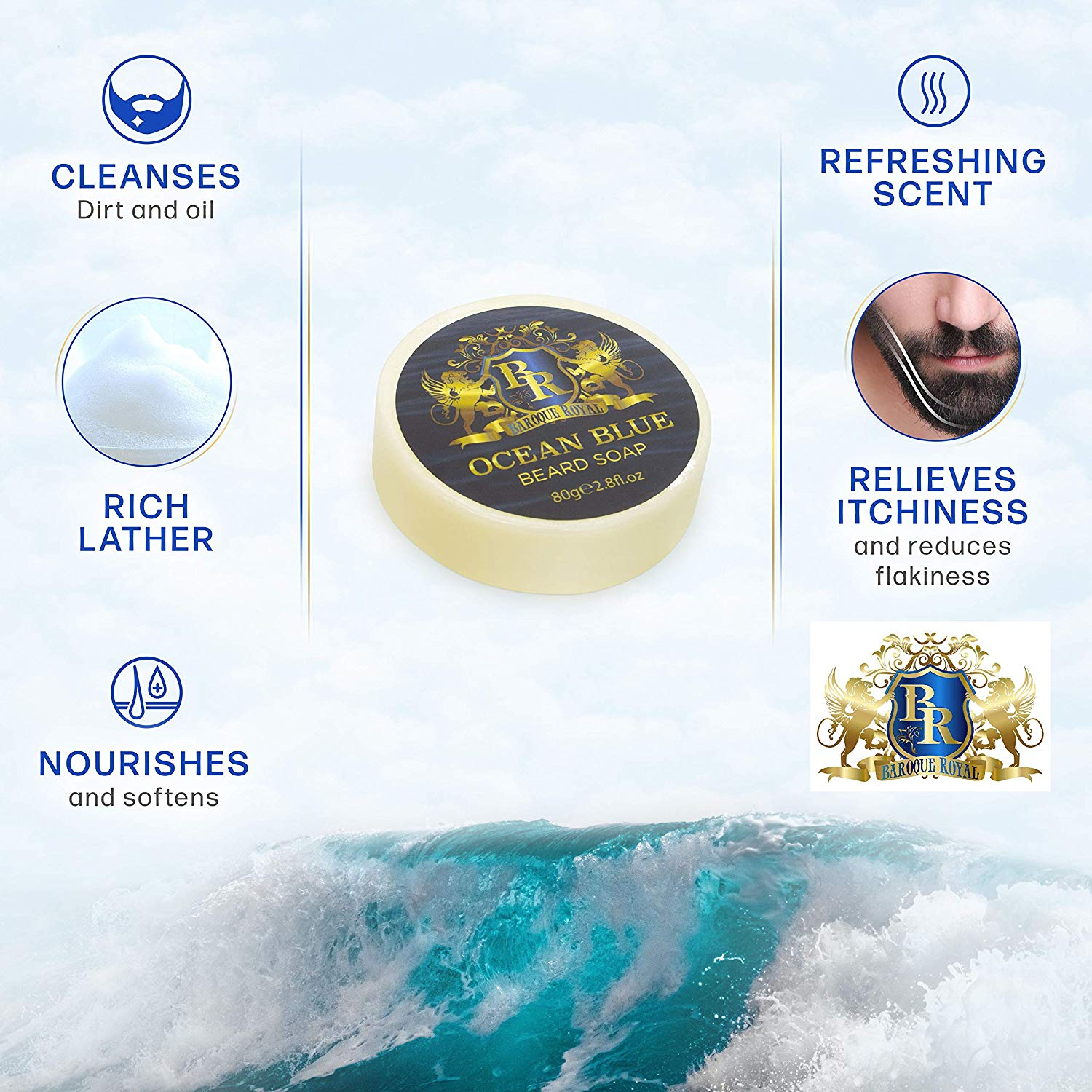 Baroque Royal - Beard Shaving Soap - Info