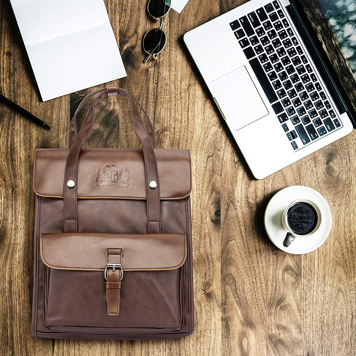 Brown Vintage Backpack