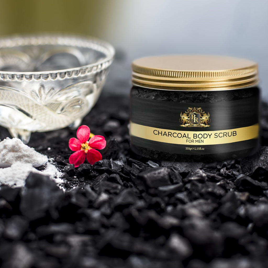 Baroque Royal - Activated Charcoal Body Scrub - Lifestyle 3