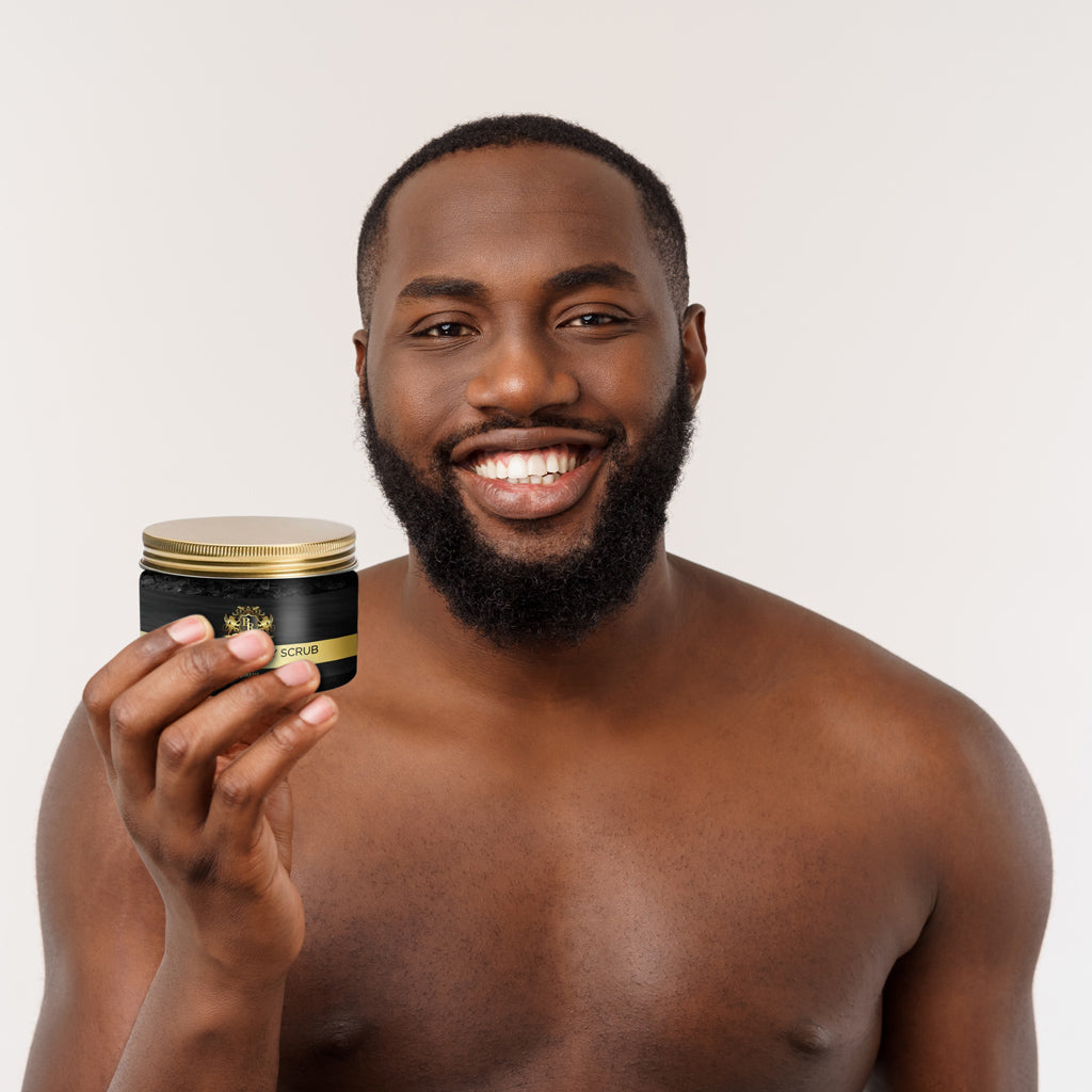 Baroque Royal - Activated Charcoal Body Scrub - Lifestyle 4