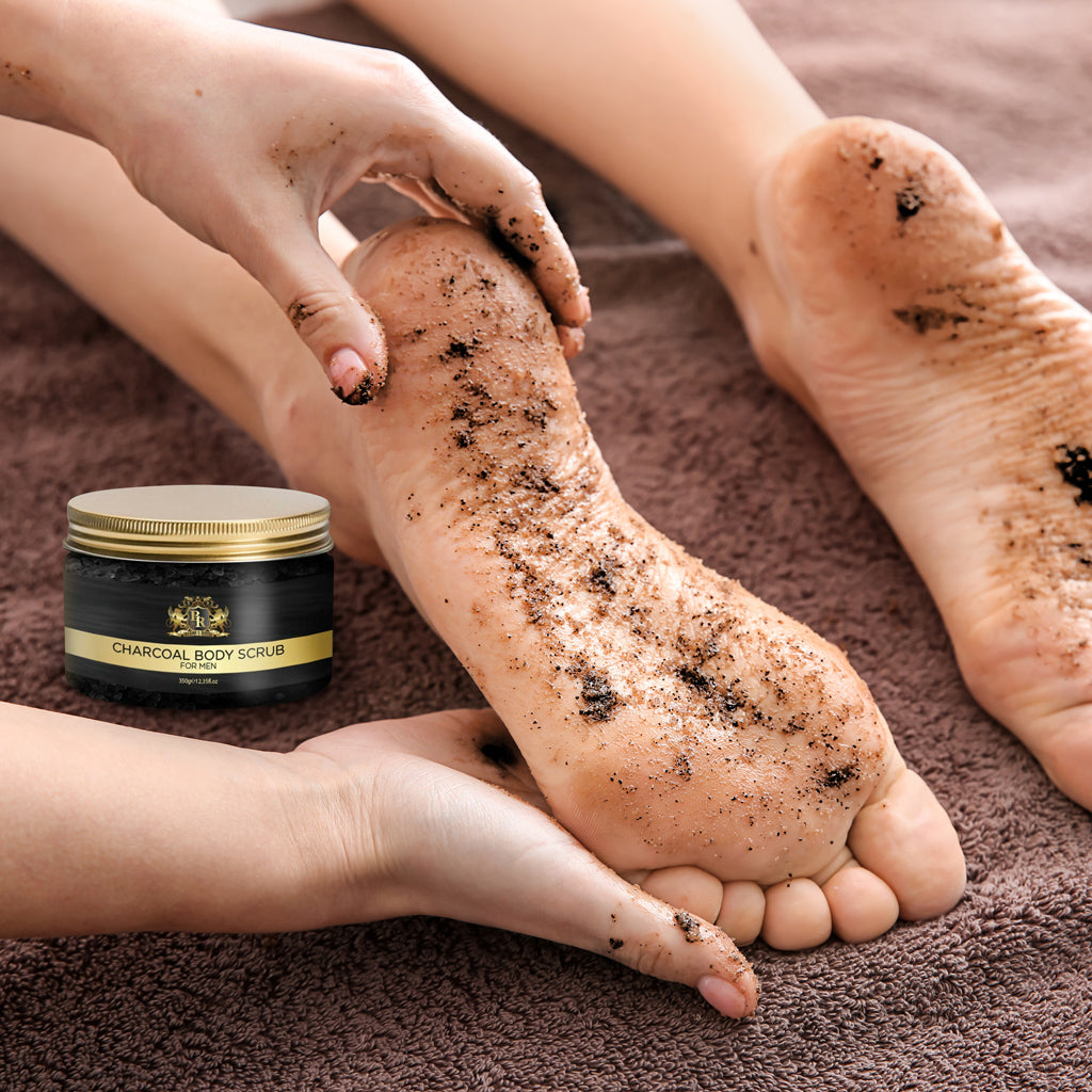 Baroque Royal - Activated Charcoal Body Scrub - Lifestyle 7