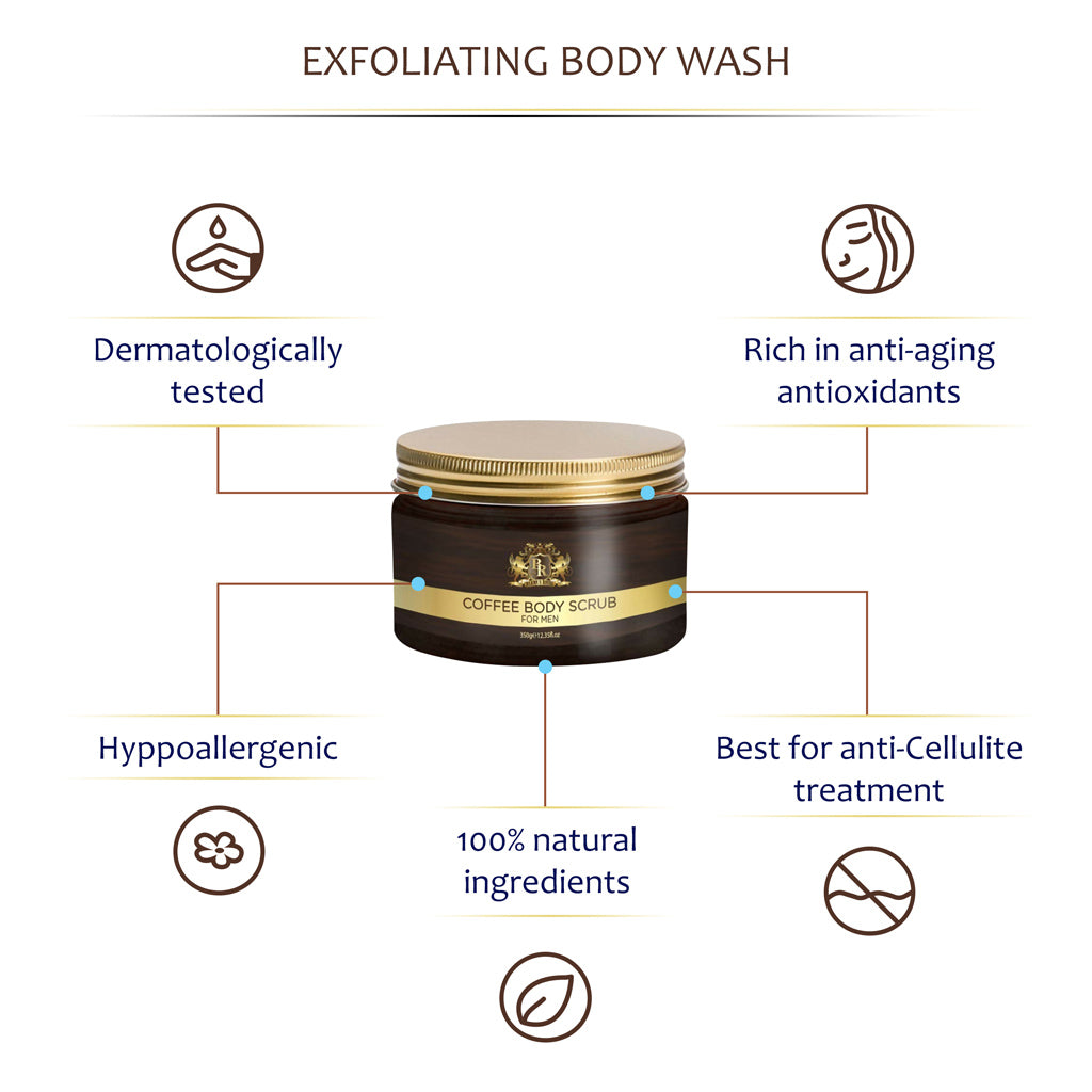 Baroque Royale - Arabica Coffee Body Scrub - Info 3