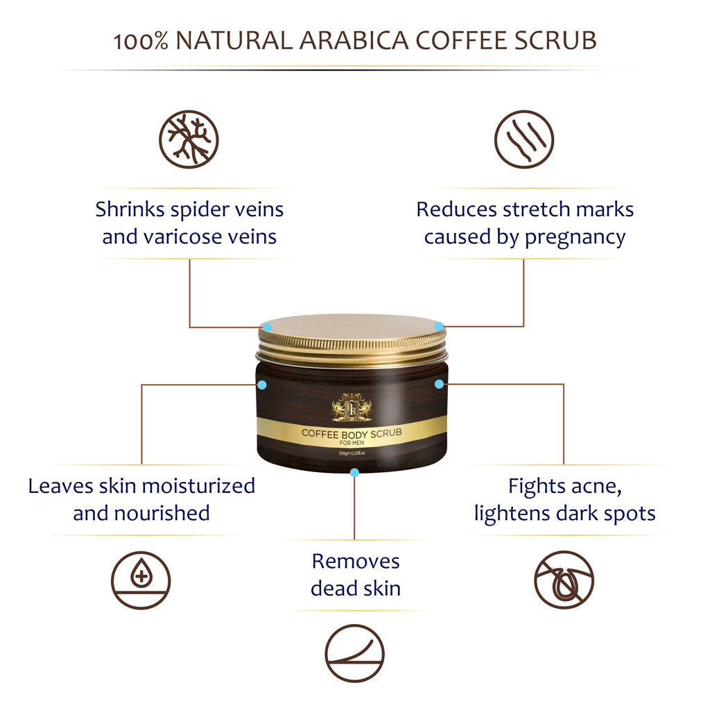 Baroque Royale - Arabica Coffee Body Scrub - Info 4