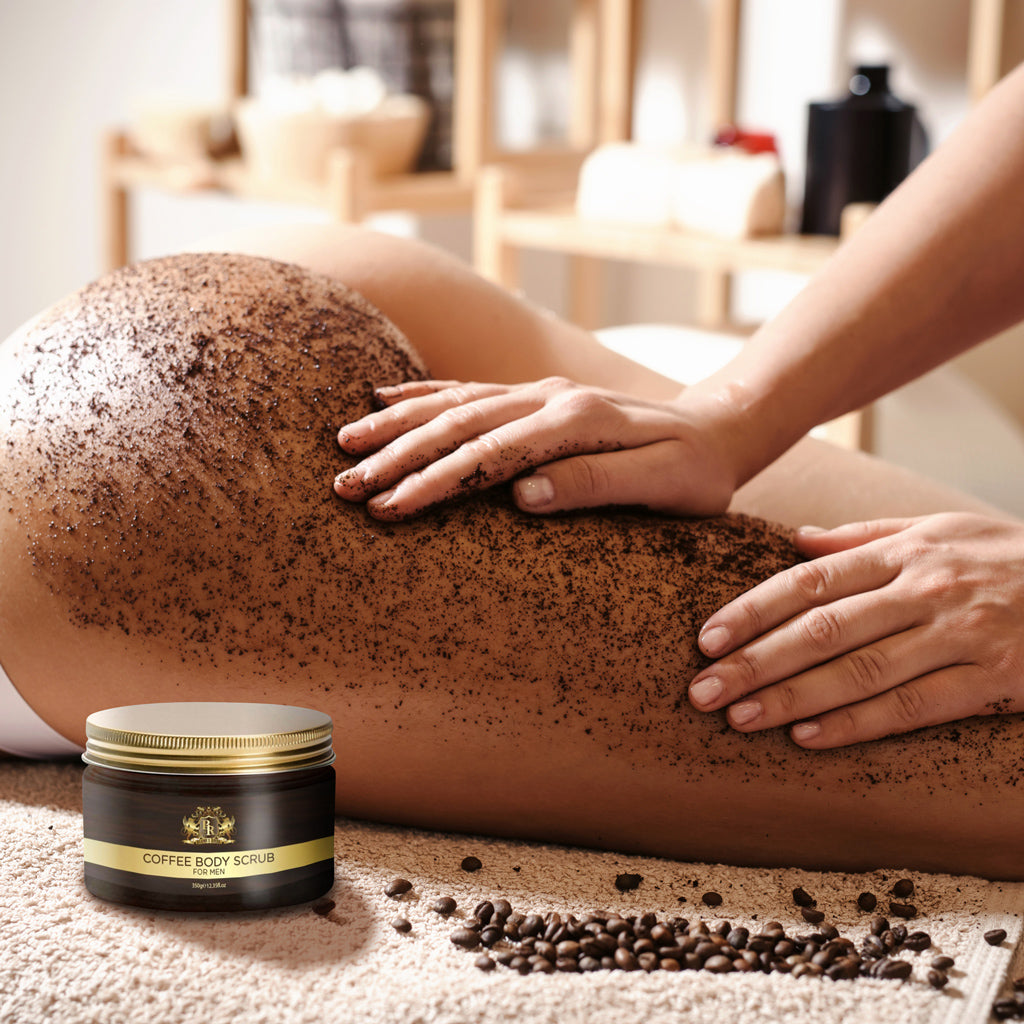 Baroque Royale - Arabica Coffee Body Scrub - Lifestyle 3