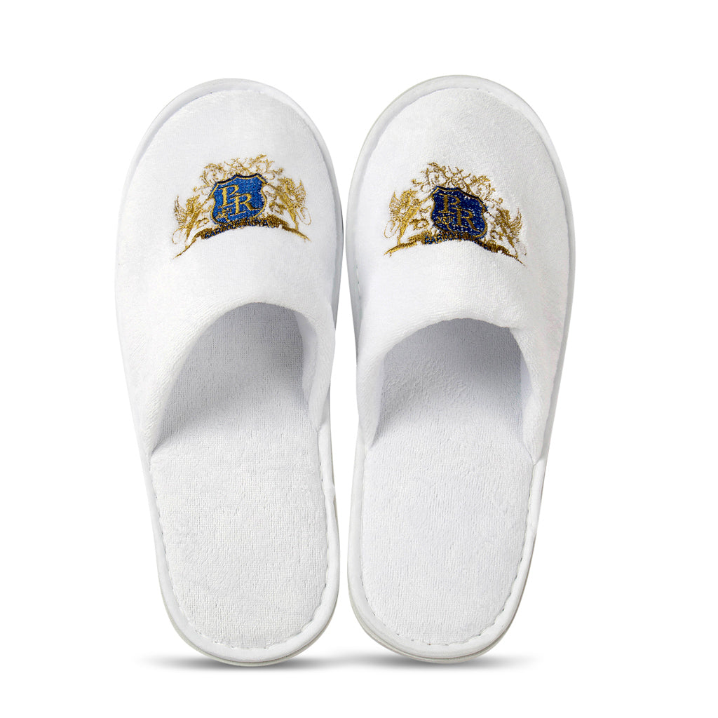 Baroque Royal - Disposable Slippers - Velour - Main