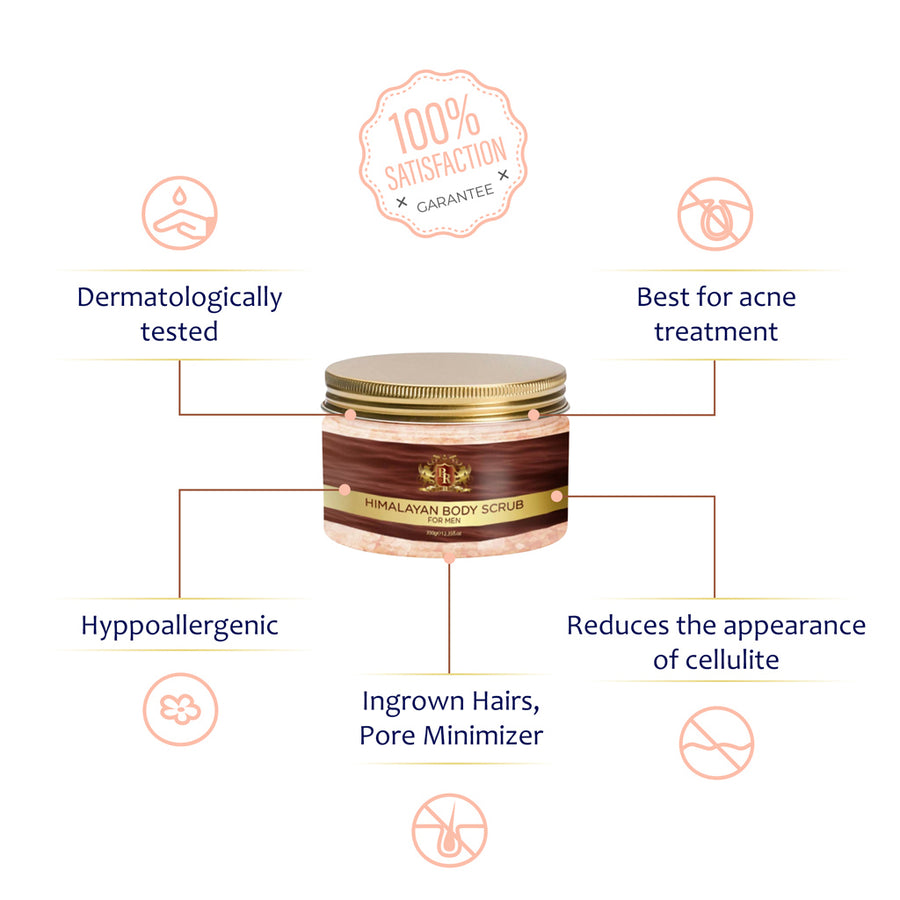 Baroque Royale - Himalayan Pink Salt Body Scrub - Main