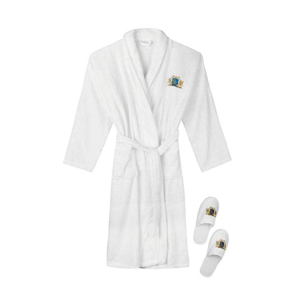 Luxury Terry Cotton Shower Bathrobe
