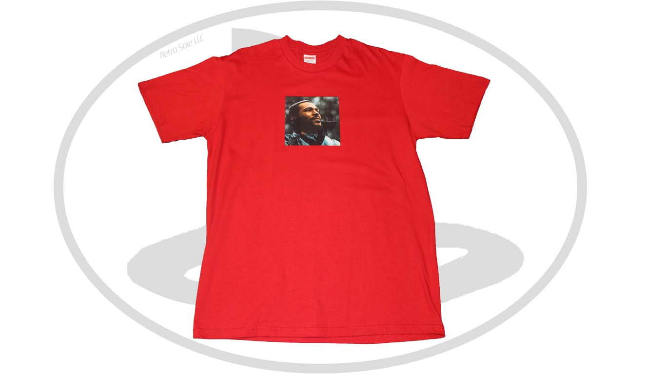 994753ba7 Supreme Marvin Gaye Tee Red – Retro Sole LLC