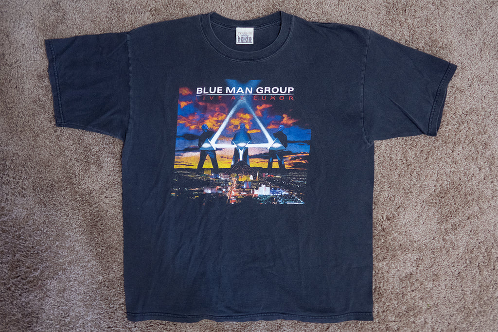 Blue Man Group at the Luxor (Millennium Shirt) 1999/2000 XL