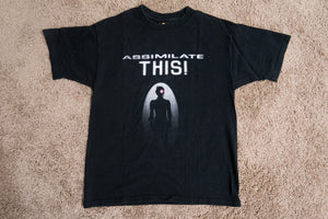 """Assimilate This"" - Star Trek Experience - Las Vegas Hilton (90s) - Large T-Shirt"