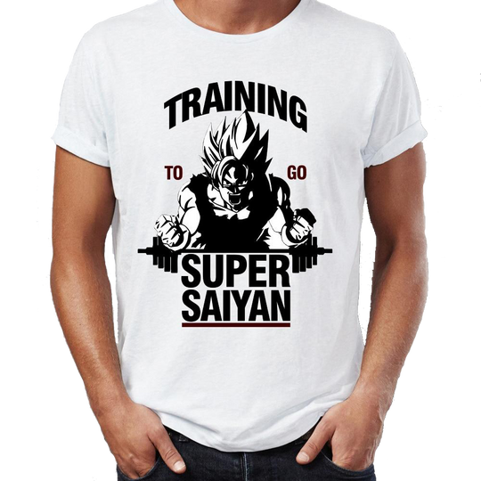 Training to go Super Saiyan - Dragon Ball