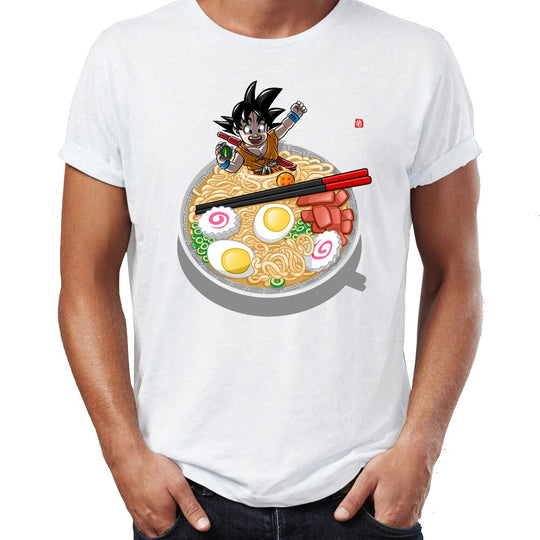 Goku and Ramen - Dragon Ball