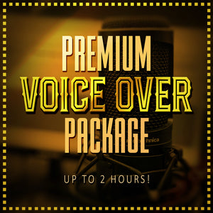 Premium Voice Over Pack