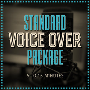 Standard Voice Over Pack
