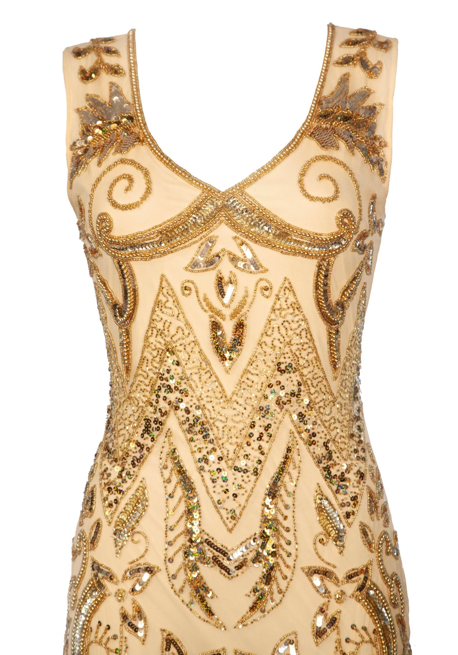 Entendimiento Gold Dress