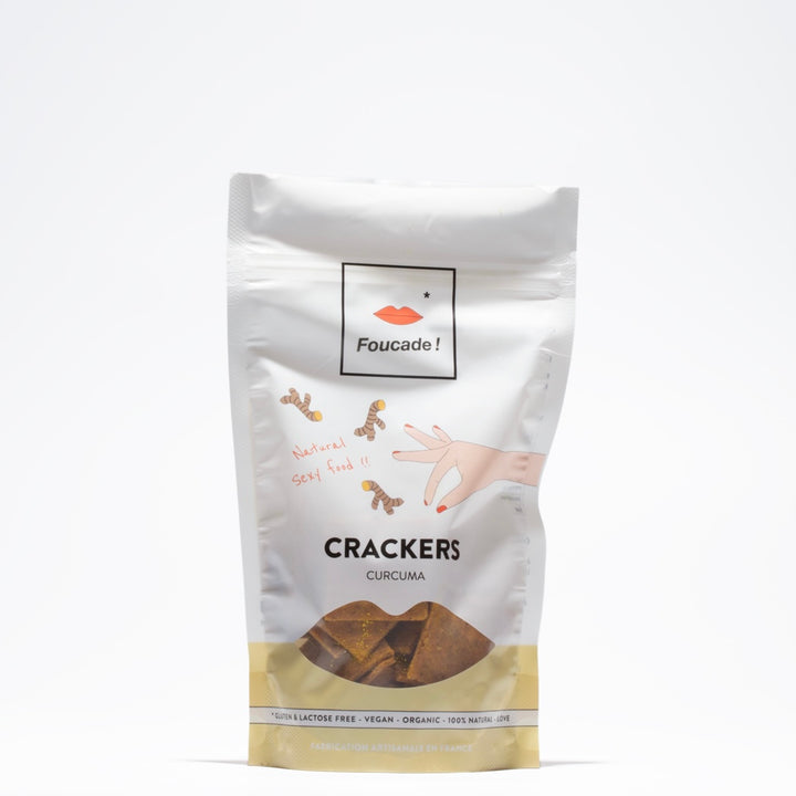 Les Crackers Curcuma