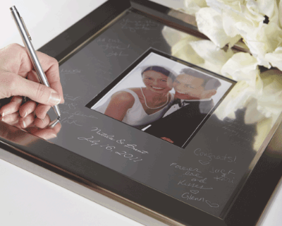 Signature Frame Guest Books